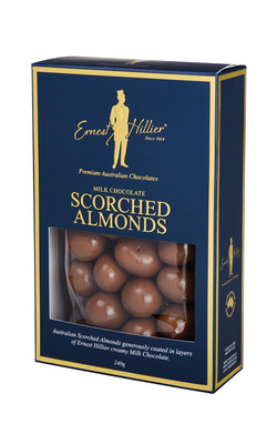 Ernest Hillier Milk Chocolate Scorched Almonds 240g