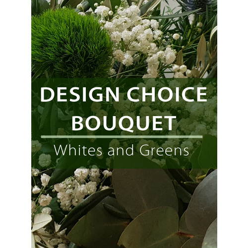 Design Choice Bouquet - Whites and Greens